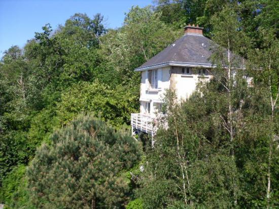 Vue du toit de La Feuilleraie