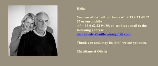 Contact anglais 1