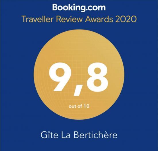 Booking.com 2020 award